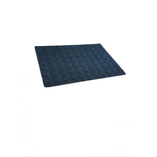 Covor cauciuc cu buline, 4 mm, rola 10 m × 1.4 m