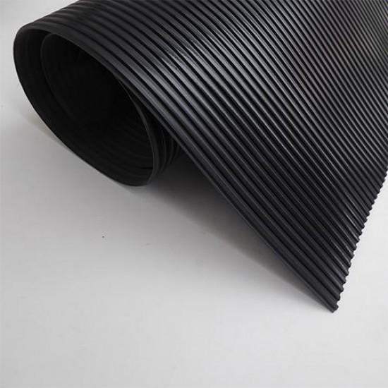 Covor Cu Striuri Fine si o insertie textila, 3 mm, rola 10 m × 1.4 m